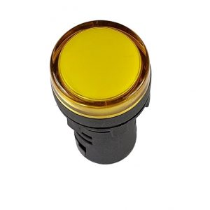 Лампа AD22DS d22mm желтый 230V