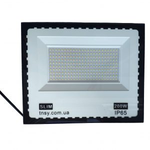 Прожектор LED 200W Ultra Slim 180-260V 18000Lm 6500K IP65 SMD TNSy